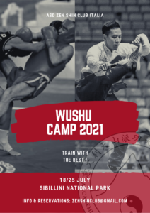 Wushu Camp 2021